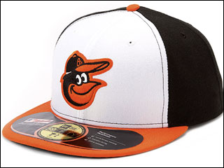 Retr-O! Cartoon bird makes triumphant return to Orioles caps