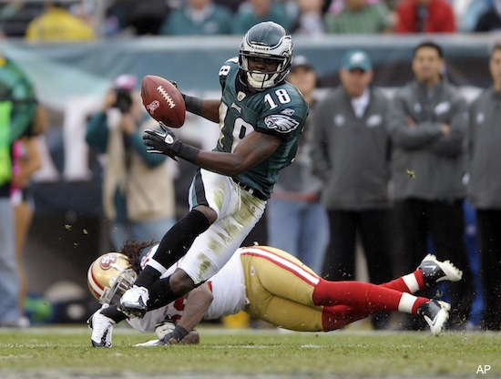 Maclin snipes at reporter, can't figure out reason for turnovers