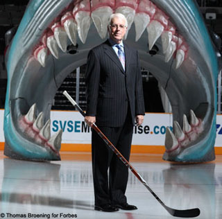 Can ex-Sharks CEO Greg Jamison save the Phoenix Coyotes?