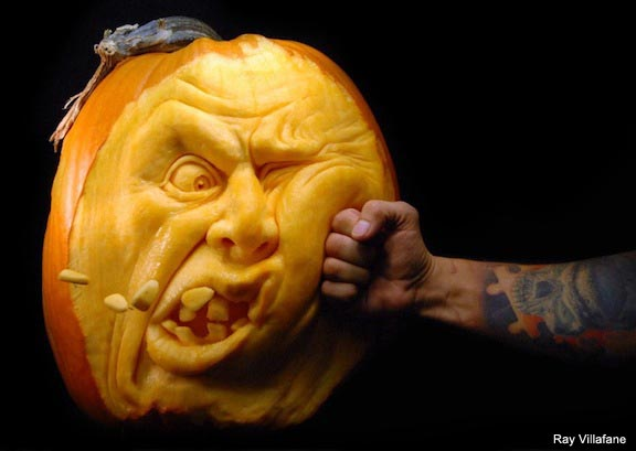 Smashing pumpkins: Show us your MMA carved pumpkins