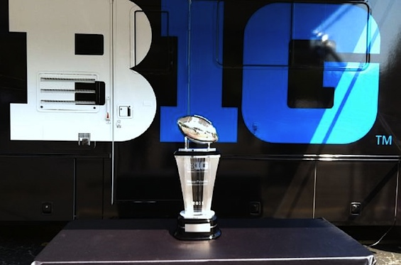 Big Ten re-brands its new championship trophy, sans Paterno