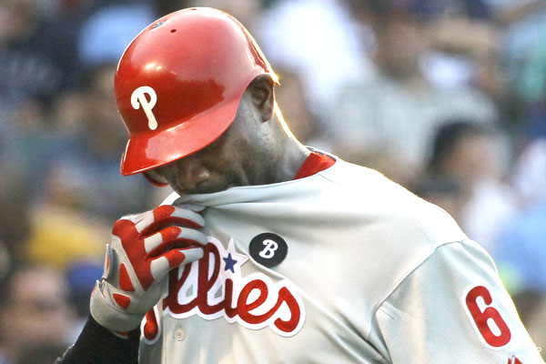 Slumpbot .200: With salary set to soar, Ryan Howard in decline