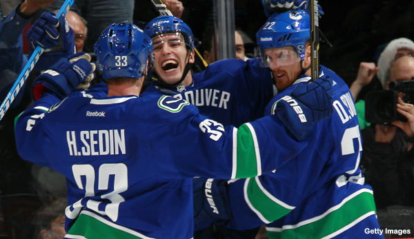 Monday's Three Stars: Sedins go full wizard; Morrow leads Stars
