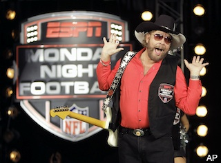 Hank Williams Jr. wrote a new song about Fox News and ESPN