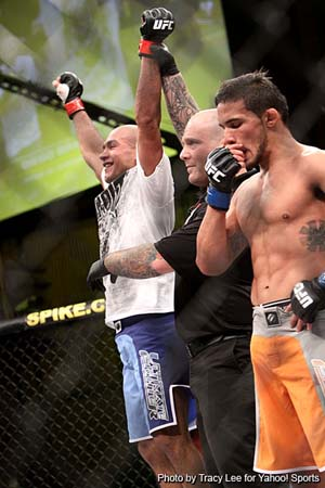 Diego Brandao wins 'The Ultimate Fighter' with BJJ skills