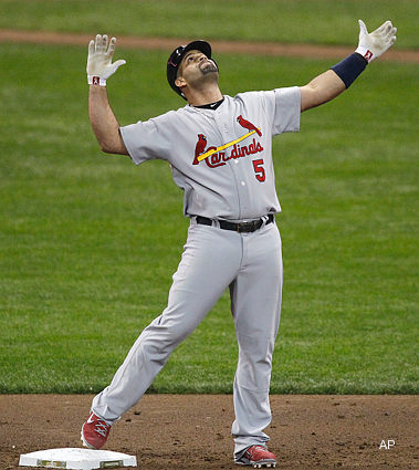 NLCS Game 2: Pujols strikes back with big night, Cards even series