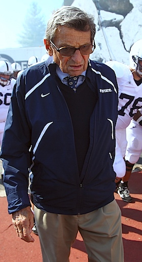 Hard times get harder: Joe Paterno diagnosed with lung cancer