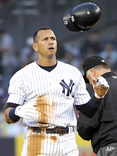 Report: A-Rod's poker playing could earn him suspension