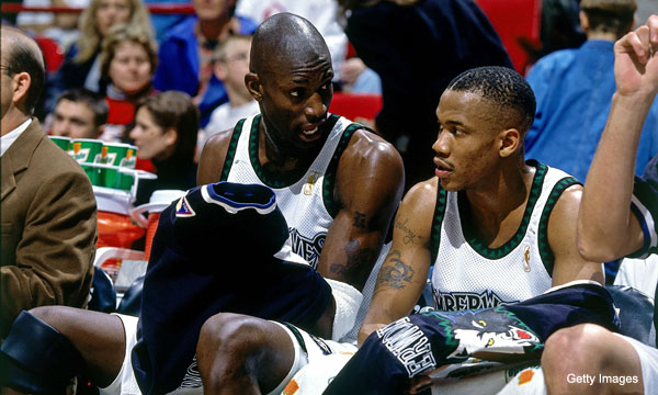 "Video: KG and Steph, back when their bond was ""real"""