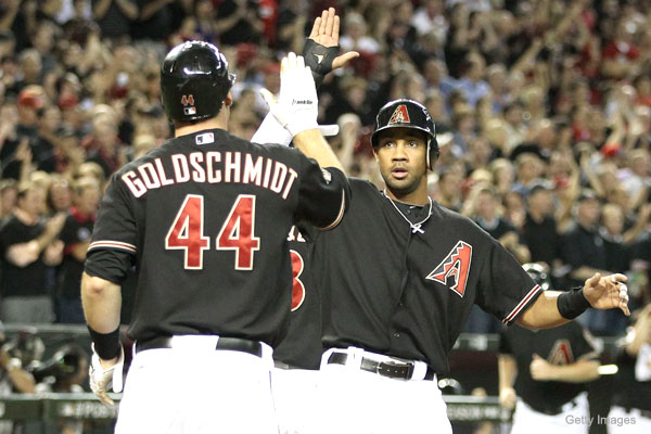 NLDS Game 4: Arizona's offense takes series to limit