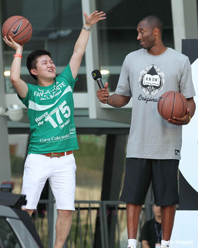 Kobe Bryant could still play in China, however unofficially