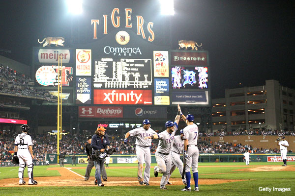 ALCS Game 4: Cruz and Napoli lead Rangers to win in 11th