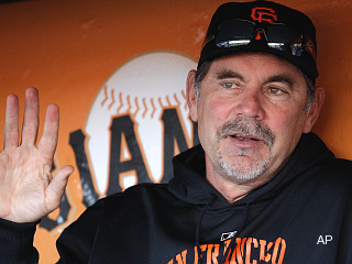 Bochy, Giants staff hypnotized into quitting chewing tobacco habit