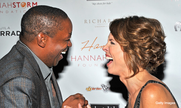 Create-a-Caption: Isiah Thomas and Hannah Storm are best friends