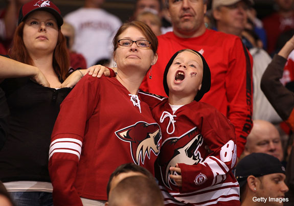 Oh great, Jerry Reinsdorf is trying to buy Coyotes again
