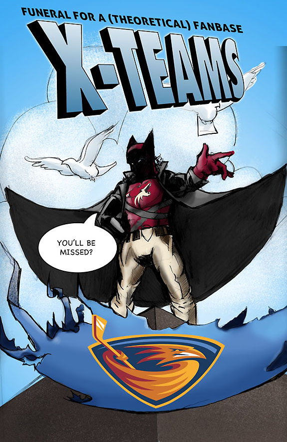 In comic book form, the Thrashers' relocation to Winnipeg