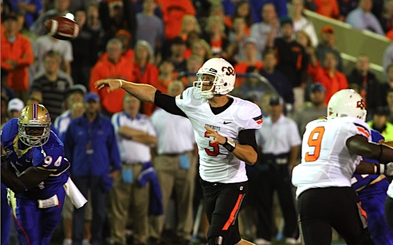 It's official: At 3:36 a.m. local time, Oklahoma State beats Tulsa