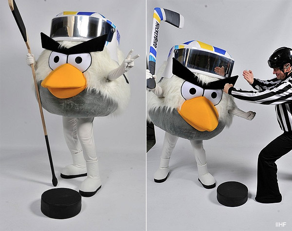 Angry Birds: Your 2012 IIHF World Championship mascot
