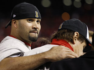 Poor, poor Albert: La Russa says Pujols 'in pain' over decision