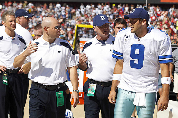 11-on-11: All injuries, all the time. Updating Romo, Vick, Foster