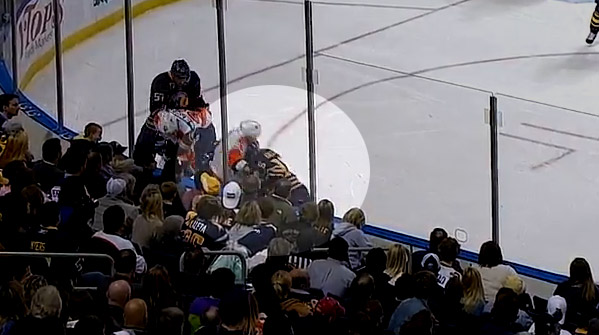 After headbutt, we're starting to think Patrick Kaleta hates Flyers