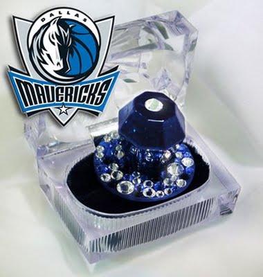 Bazooka sends the Dallas Mavericks some championship Ring Pops