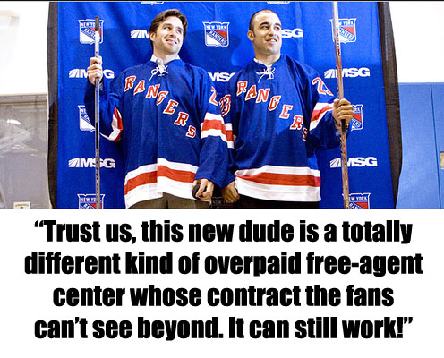 Puck Daddy Season Preview 2011-12: New York Rangers