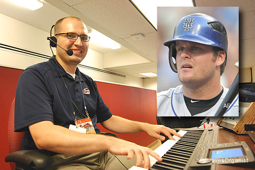 Duda unmoved when Braves organist plays 'Camptown Races'