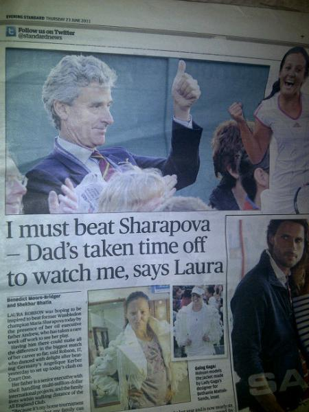 British newspaper prints wrong picture of teen star's father