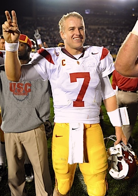 Matt Barkley agrees: Notre Dame &#8216;did give up&#8217; against USC