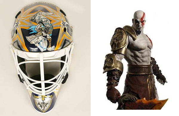 Behind Angry Birds mask and other goalie video game tributes - Puck Daddy  - NHL Blog - Yahoo! Sp…