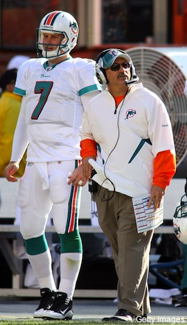 Tony Sparano is 'sick' that Dolphins fans want Kyle Orton