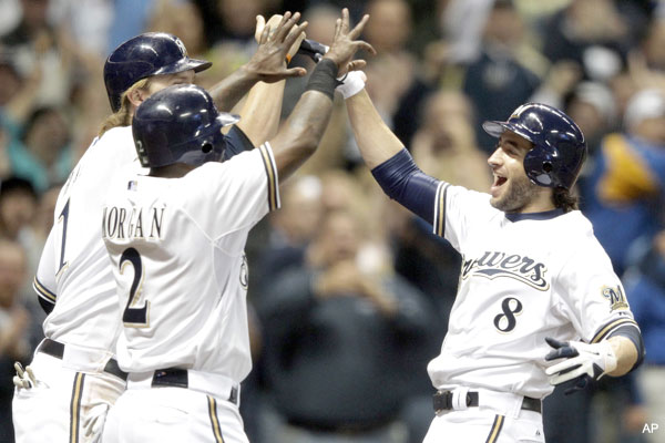 Drink up! Brewers clinch first division title since 1982