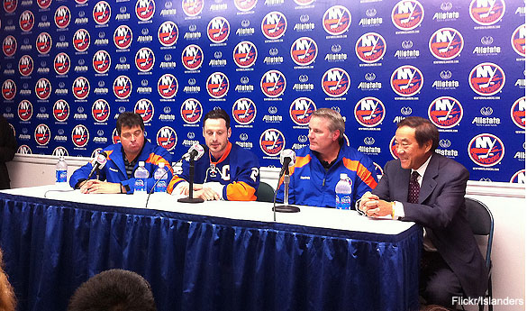 Islanders make Mark Streit the first Swiss NHL captain