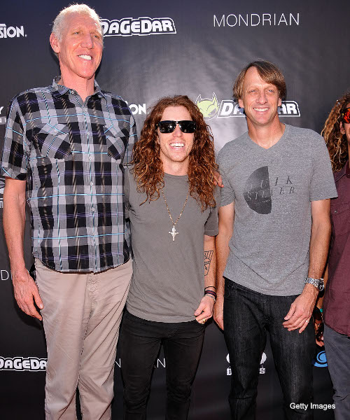 C-a-C: Bill Walton, Shaun White and Tony Hawk are 'The Three Chillmigos'