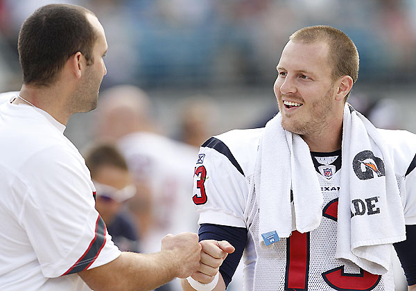 Let's meet Andre Johnson's new quarterback (for now), TJ Yates