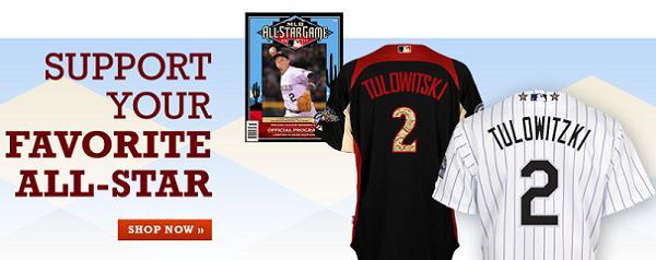 On sale now: Misspelled Troy Tulowitzki All-Star jerseys!