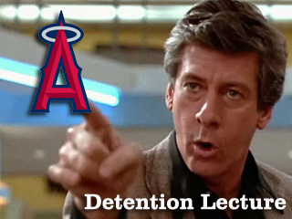 Detention Lecture: Your 2011 Los Angeles Angels