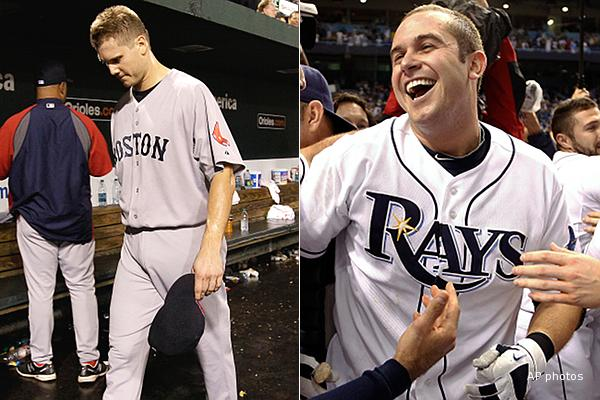 No tiebreaker necessary: Rays in, Red Sox out after crazy night