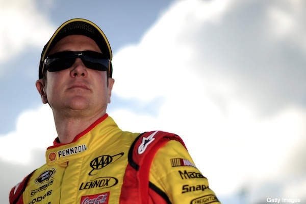 Kurt Busch didn't want to give ESPN an interview Sunday