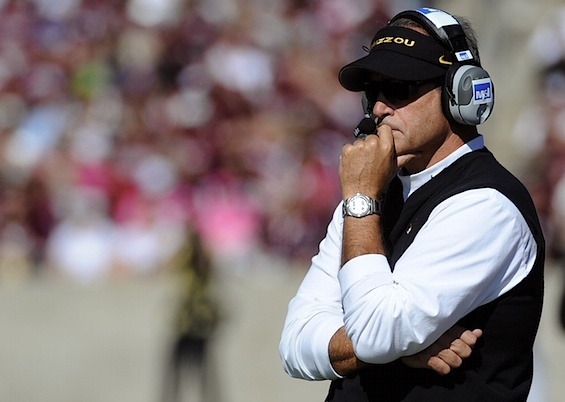 Missouri puts Gary Pinkel (and his salary) on ice following DWI