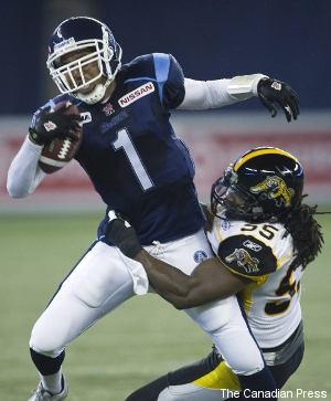 Who will triumph in Argonauts' QB battle?