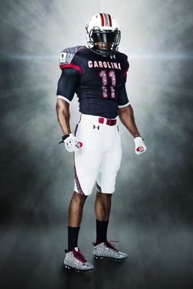 Under Armour unveils this year's Wounded Warrior Project uniforms