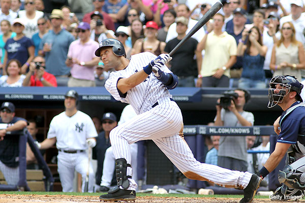 Mr. 3,000: Derek Jeter joins club with unexpected homer