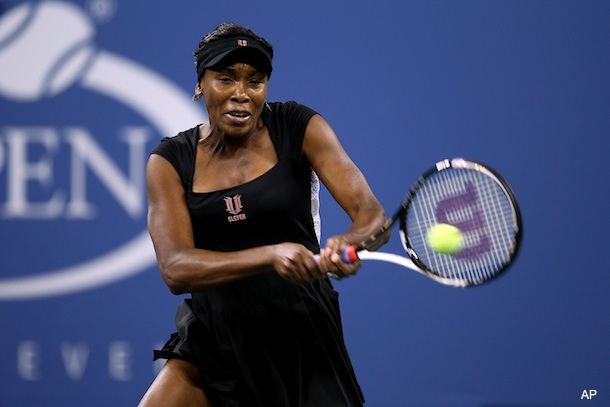 Venus Williams wore an understated dress … oh, never mind