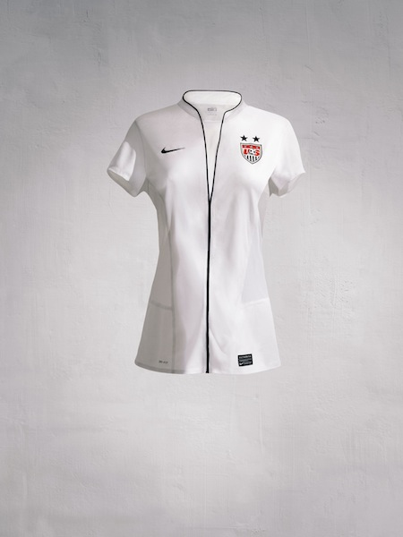 U.S. play Women's World Cup in kit resembling nurse's uniform