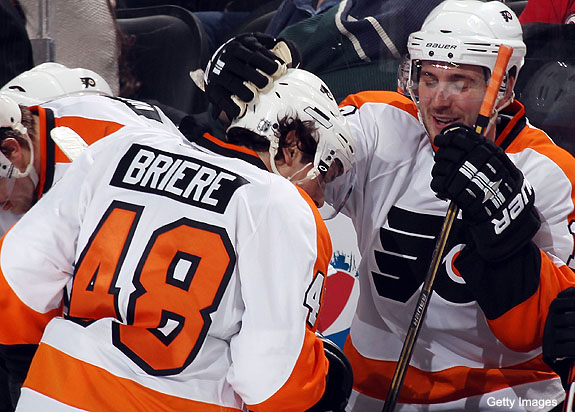 Danny Briere, Mike Richards revisit the Dry Island