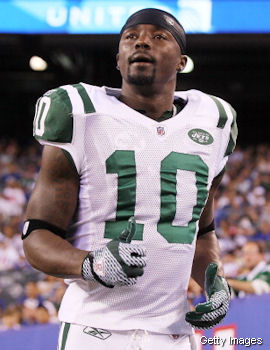 Santonio Holmes calls out the Jets offensive line