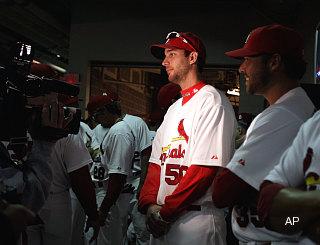 Redbird a-chirping: Wainwright declares Cardinals best in NL