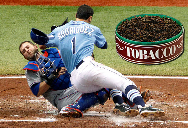 Gulp: Napoli says he swallowed tobacco during crash at plate